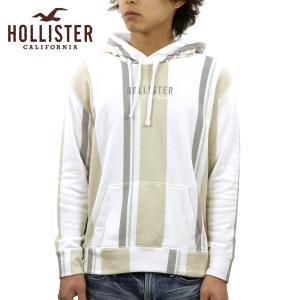 【エントリーで5%付与 2/16 0:00〜2/19 23:59】 ホリスター パーカー メンズ 正規品 HOLLISTER プルオーバーパーカー ロゴ ストライプ Stripe Logo Hoodi|mixon