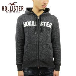 【エントリーで5%付与 2/16 0:00〜2/19 23:59】 ホリスター パーカー メンズ 正規品 HOLLISTER ジップアップパーカー ロゴ Embroidered Logo Full-Zip Ho|mixon