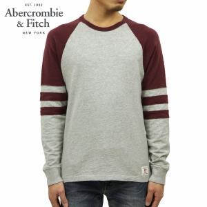 【ポイント10倍 2/23 0:00〜2/25 23:59まで】 アバクロ Tシャツ メンズ 正規品 Abercrombie&Fitch 長袖Tシャツ クルーネックTシャツ  LONG-SLEEVE VARSI|mixon