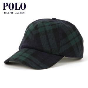 【ポイント10倍 2/23 0:00〜2/25 23:59まで】 ポロ ラルフローレン POLO RALPH LAUREN 正規品 メンズ 帽子 キャップ WOOL CHECK HAT mixon