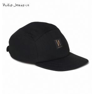 ヌーディージーンズ Nudie Jeans 正規販売店 メンズ レディース 帽子 キャップ LARSSON DRY BLACK CAP BLACK B01 180803 mixon