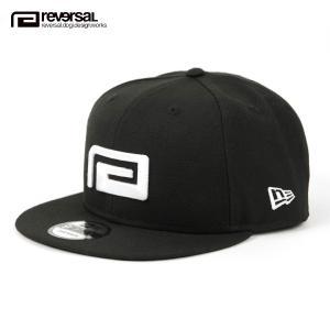 リバーサル キャップ メンズ レディース 正規販売店 REVERSAL 帽子 ニューエラコラボ NEW ERA  x rvddw BIG MARK 9FIFTY rvner016 BLACK mixon