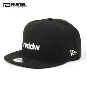 リバーサル キャップ メンズ レディース 正規販売店 REVERSAL 帽子 ニューエラコラボ NEW ERA  x rvddw /rvddw 9FIFTY rvner017 BLACK mixon