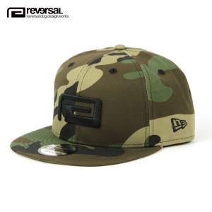 リバーサル キャップ メンズ レディース 正規販売店 REVERSAL 帽子 ニューエラコラボ NEW ERA  x rvddw BIG MARK CAMO 9FIFTY rvner018 CAMO mixon