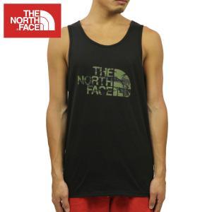 ノースフェイス タンクトップ メンズ 正規品 THE NORTH FACE 正規品 TRIBLND HALF DOME TANK TOP TEE TNF BLACK|mixon