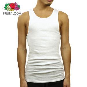 フルーツオブザルーム タンクトップ メンズ 正規品 FRUIT OF THE LOOM アンダーウェア 下着 Men's Shirts - Classic A-Shirt WHITE mixon