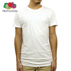 フルーツオブザルーム Tシャツ メンズ 正規品 FRUIT OF THE LOOM クルーネックTシャツ 半袖Tシャツ アンダーウェア 下着 Men's Shirts - Classic Crew WHITE|mixon