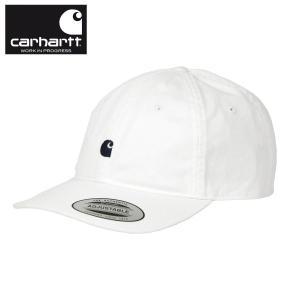 カーハート キャップ メンズ 正規品 CARHARTT WIP キャップ 帽子 ロゴキャップ MADISON LOGO CAP WHITE i023750-0292 mixon