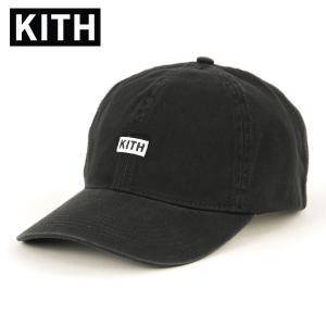 キス キャップ メンズ 正規品 KITH 帽子 KITH BL TWILL CAP KH5774-100 BLACK mixon