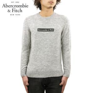 アバクロ セーター メンズ 正規品 Abercrombie&Fitch クルーネックセーター ロゴ LOGO SWEATER 120-201-1662-120|mixon