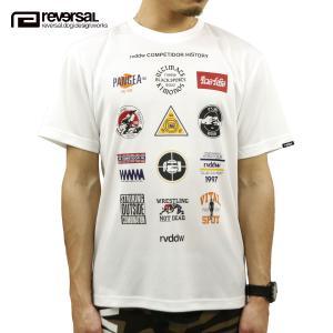 予約商品 5月頃入荷予定 リバーサル Tシャツ 正規販売店 REVERSAL 半袖Tシャツ クルーネック メッシュ地 ALL STAR MARK DRY MESH TEE rv20ss019 WHITE|mixon