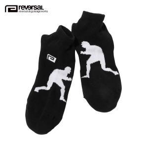 【エントリーで5%付与 4/6 0:00〜4/9 23:59】 予約商品 5月頃入荷予定 リバーサル ソックス メンズ 正規販売店 REVERSAL 靴下 ショート丈ソックス SQUARE mixon
