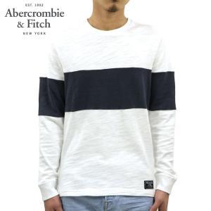 アバクロ ロンT メンズ 正規品 Abercrombie&Fitch 長袖Tシャツ クルーネックTシャツ LONG-SLEEVE CREW TEE 124-228-0418-100|mixon
