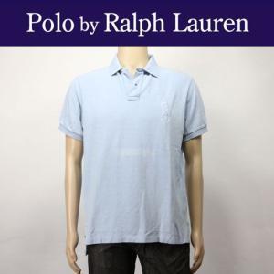 ポロ ラルフローレン メンズ POLO RALPH LAUREN 正規品 ポロシャツ Custom Indigo Big mixon