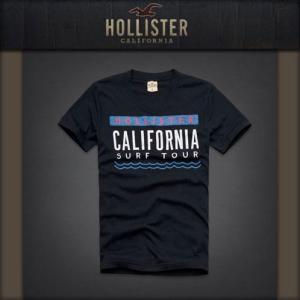 ホリスター Tシャツ メンズ HOLLISTER 正規品 半袖 LA JOLLA SHORES T-SHIRT NAVY mixon