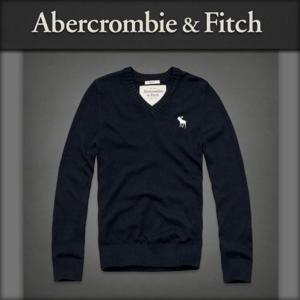 アバクロ メンズ Abercrombie&Fitch 正規品 Vネックセーター Morgan Mountain Sweat mixon