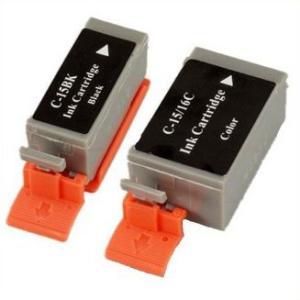 キャノンBCI-15Black & BCI-15Color 対応互換インク、PIXUS 50i、PIXUS iP90v等使用 mixy4