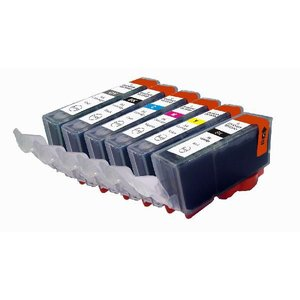 【残量表示可能】BCI-321+320/5MP キャノン対応新品インク、MP640、MP550、iP4700等使用 mixy4