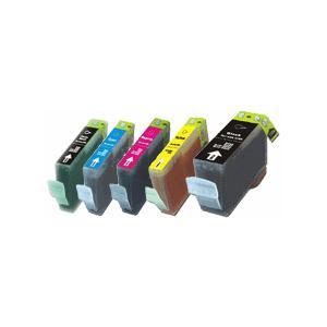 【5色セット・残量表示可能】BCI-321+320/5PM キャノン対応互換インク mixy4