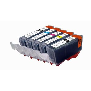 【5色セット・残量表示可能】BCI-326+325/5PM キャノン対応互換インク、PIXUS MX893 MG5130/iP4830等使用 mixy4