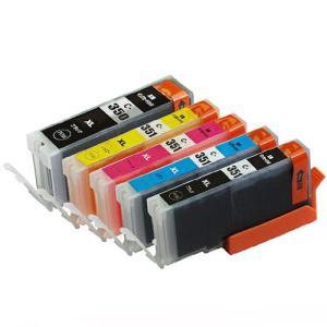 5色セット・残量表示可能】BCI-351XL+350XL/5MPキャノン対応大容量インクタンク、PIXUS MG5530/MG5430/iP7230等使用 mixy4