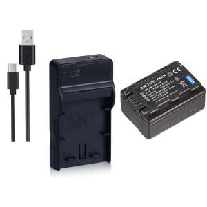 TKG』 【セット】DC106+VW-VBK180/VW-VBK180-K 対応互換バッテリー + USB型充電器のセット