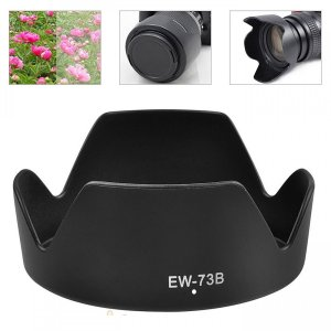 TKG」 EW-73B 互換レンズフード キヤノン 交換レンズEF-S17-85mm F4-5.6 IS USM 等対応|mixy4