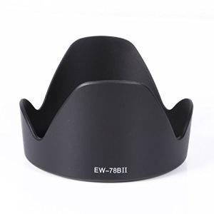 TKG」 EW-78BII 互換レンズフード キヤノン 交換レンズEF28-135mm F3.5-5.6 IS USM 対応|mixy4