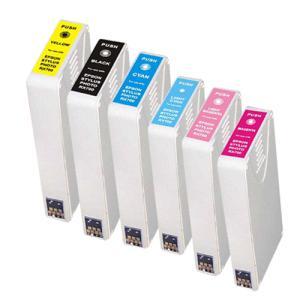 【6色セット】エプソンIC6CL35 , ICBK35/ICC35/ICM35/ICY35/ICLC35/ICLM35/PM-A900、PM-A950、PM-D1000等対応互換インク|mixy4