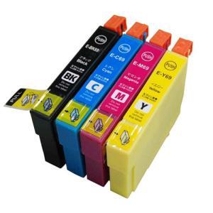 【4色セット】エプソンIC4CL69, ICBK69/ICC69/ICM69/ICY69/ PX-435A/PX-405A/PX-045A/PX-535F/PX-505F/PX-105等対応互換インク|mixy4