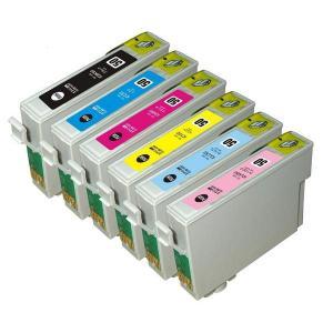 【6色セット】エプソンIC6CL50 , ICBK50/ICC50/ICM50/ICY50/ICLC50/ICLM50/EP-704A、EP-804A、EP-904A等対応互換インク|mixy4