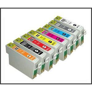 【8色セット】エプソンIC8CL53 ,ICC53/ICM53/ICY53/ICOR53/ICR53/ICGL53/ICBK53/ICMB53/PX-G5300等対応互換インク|mixy4