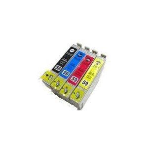 エプソンIC5CL59 , ICBK59/ICC59/ICM59/ICY59、PX-1001,PX-1004対応互換インク、色選択自由|mixy4