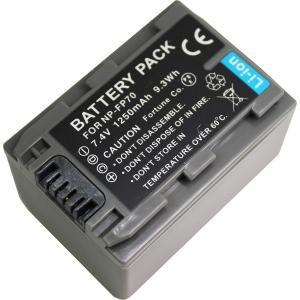 TKG』 【残量表示可】NP-FP70/NP-FP71 ソニー互換バッテリーDCR-DVD505、DCR-HC41等対応|mixy4
