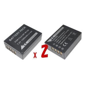 KeyW : デジタル カメラ バッテリー NPW126 battery NP-W126 NP-W1...