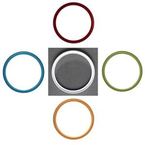 NinoLite UVフィルター 46mm 5色選択 カメラ レンズ 保護 フィルターの上からレンズキャップが取り付け可能な構造|mixy4