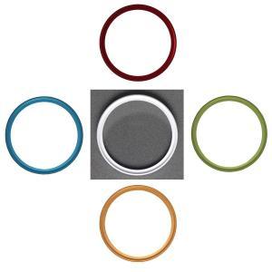 NinoLite UVフィルター 58mm 5色選択 カメラ レンズ 保護 フィルターの上からレンズキャップが取り付け可能な構造 mixy4