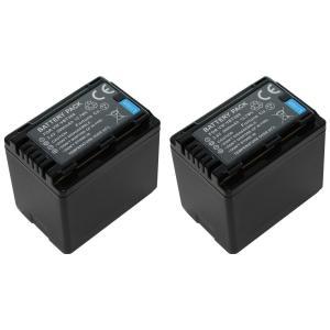 TKG』 【2個セット】 VW-VBT380-K / VW-VQT380-K パナソニック互換バッテリーのお得な2個セット|mixy4