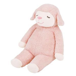 ひつじのメイプル 抱きまくらL サクラ 48122-23 お祝い 赤ちゃん 羊|miya-house