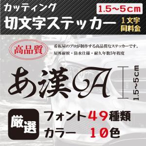 ステッカー 作成 車 店 おしゃれ 5cmまで1文字同価格 送料無料 アウトドア かっこいい 高品質 オーダー カッティング 切り文字 表札 名前 ポスト 数字|miyabi-s