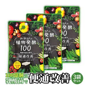 酵素サプリメント みやびの植物酵素サプリ100 3袋セット|miyabi-store