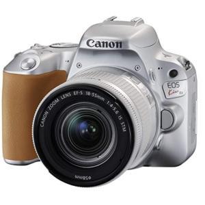 キヤノン Canon EOS Kiss X9 レンズキット デジタル一眼レフカメラ 中古  シルバー...