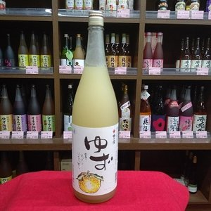 梅乃宿酒造 ゆず酒 8度 1800ml miyagen