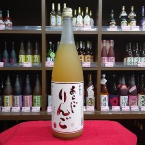梅乃宿酒造 あらごし りんご 7度 1800ml miyagen