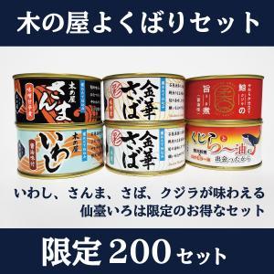 缶詰 木の屋 よくばり セット 送料無料 いわし さんま さば 鯨 木の屋石巻水産 数量限定 仙臺いろは お取り寄せ|miyagi-chisanchisho