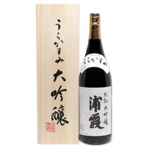 味浦霞 大吟醸 別誂え 1800ml|miyagimarugoto