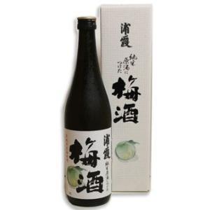 純米原酒につけた 浦霞の梅酒 720ml|miyagimarugoto