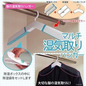 マルチ湿気取りハンガー /  クローゼットやシューズボックスの除湿に。|miyaguchi