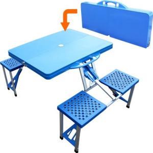 アウトドアテーブルセット 折りたたみ ピクニックテーブル...