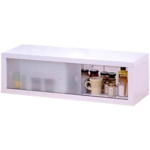 キッチン収納 スパイスラック 小物ラック キッチン収納  / 両面ガラス戸付カウンターラック85 miyaguchi